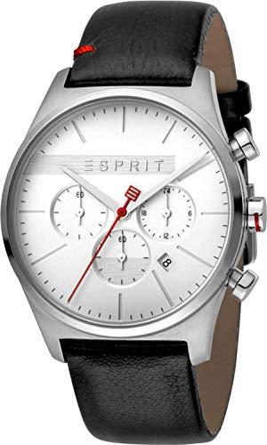 Esprit Orologio Cronografo Quarzo Uomo con Cinturino in Pelle ES1G053L0015