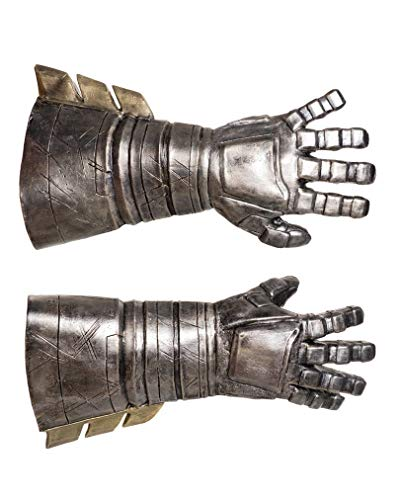 Horror-Shop Batman v Superman Batman Panzer Handschuhe (Batman V Superman Kostüm)