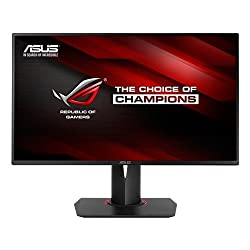 "Asus 90lm00u0-b01370 - Asus Pg278q Rog Swift 27"" G-sync 144hz Gaming Widescreen Led Slim Bezel Monitor - Blackred"
