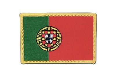 Portugal Aufnäher, portugiesische Flagge 6x8cm, MaxFlags®