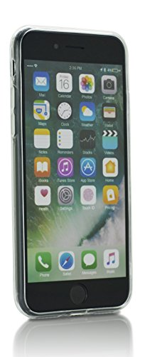 iProtect TPU Schutzhülle Apple iPhone 7, iPhone 8 Softcase Hülle Affen Emojis transparent Pommes-Tüte rot
