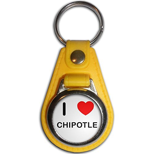 i-love-chipotle-yellow-plastic-metal-medallion-coulor-key-ring