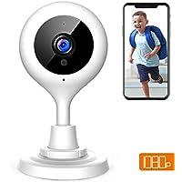 Apeman 1080P Telecamera sorveglianza WIFI Interno,Telecamera IP di sicurezza wireless, Audio Bidirezionale, Elder/Pet/Baby monitor,Modalità Notturna a Infrarossi, Compatibile con iOS e Android e PC