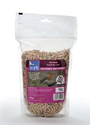 RSPB 550g High Energy Suet Sprinkles from RSPB Sales Ltd