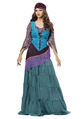 tune Teller Gypsy Fancy dress costume X-Large (Womens Gypsy Erwachsene Kostüme)