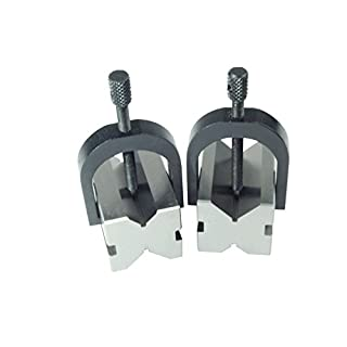 Proops Pair of V-block & Clamps 50 x 38 x 38mm (M0014). Free UK Postage