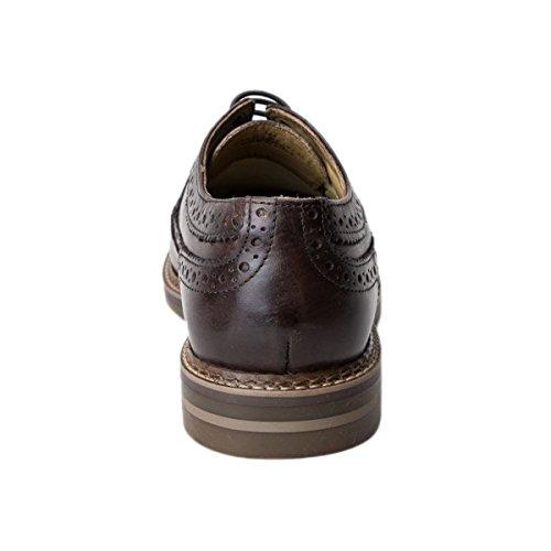 Base London Turner Shoes Brown 8 UK