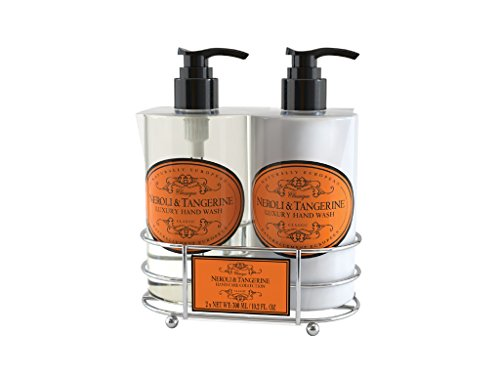 Naturally European Neroli & Tangerine Caddy Hand Wash and Hand Lotion Gift Set 2 x 300ml -