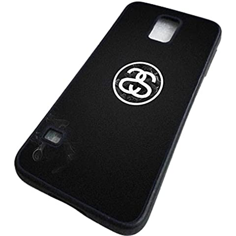Cover Samsung Galaxy S5 (I9600) Custodia Stussy Luxury Brand Marche Custodia Bello per Logo Da Stussy Hot Famous Brand Design - Galaxy S5 (I9600) Stussy Case Donna Nuda Brillantini