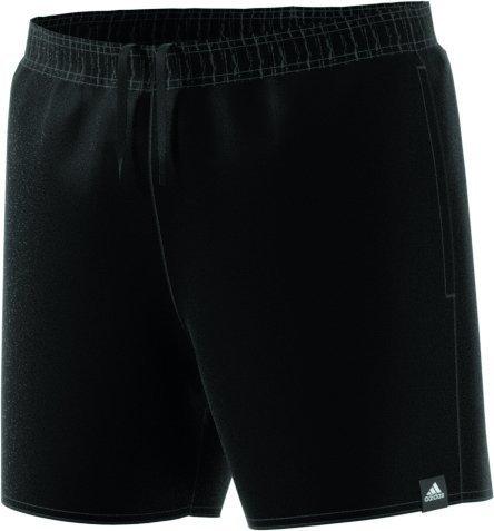 adidas Herren Solid Short Length Badeshorts, Black, 2XL