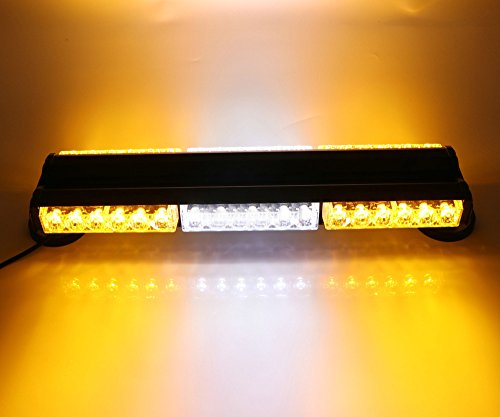 HEHEMM Double Side 36 LED 108 W Lang Auto Truck Notfall Strobe Flash Light Bar Scanner Lampe Beacon Gitter Lightbar