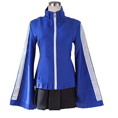 YKJ Cosplay Kostüm Blue Jacket Sweatshirt Damen Halloween Karneval Cosplay Kostüm,Full - Macht Party Stadt Haben Kostüm