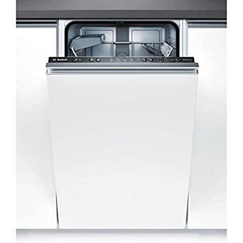 Bosch SPV50E90EU Serie 4 Geschirrspüler Vollintegriert (ohne Möbelfront) / A+ / 220 kWh/Jahr / 9 MGD / ActiveWater Technologie / Beladungs-Sensor [Energieklasse A+] Gerätebreite: 45