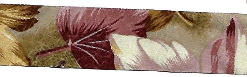 Vintage Moss Rose (beekley Schleifen Vintage Floral Calico Gedruckt Craft Nähen Band trim 5 Yards 1-1/2