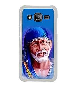 Fuson Om Sri Sathya Sai Baba Designer Back Case Cover for Samsung Galaxy J2 J200G (2015) :: Samsung Galaxy J2 Duos (2015) :: Samsung Galaxy J2 J200F J200Y J200H J200Gu (Sai Baba Shridi Siridi Sainath)