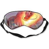 Schlafmaske Fantasy Drachen-Augenschutz, weich und bequem, Augenbinde für totale Verdunkelung und Lichtblockierung... preisvergleich bei billige-tabletten.eu