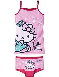 HELLO KITTY Kinder Mädchen Unterwäsche-Set, 2-teilig