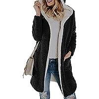 Hanomes Damen Winter Warm Fleece mit Damen mit Kapuze Mantel/Mantel Outwear Cardigan/Mode Sweatshirts preisvergleich bei billige-tabletten.eu