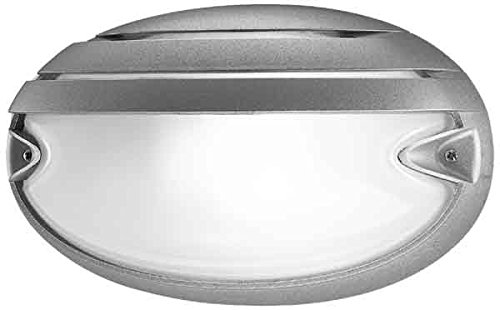 Prisma Wandleuchte CHIP OVALE 30Grill Chip Ovale Grill 30E27grau metallisch/A Oval-chip