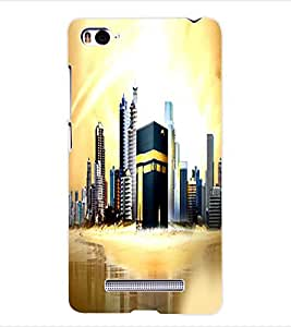 ColourCraft Makkah Madina Back Case Cover for XIAOMI MI 4I