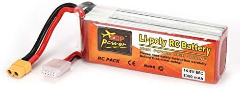 ZOP Puissance 14.8V 3300mAh 65C 4S 1P 1P 1P Lipo Batterie XT60 Plug Rechargeable pour RC Racing Drone Quadricoptère Hélicoptère Voiture Modèle De Bateau | Moins Cher  e4d0b0