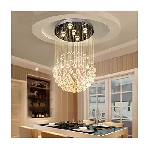 Lampadari lampade a sospensione e plafoniere Lampadario di cristallo semplice LED Lampadario di lusso moderno goccia di pioggia di cristallo - Albergo Bar di luce di cristallo lampada a sospensione Il