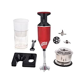 First choice 200 Watts Red Blender With Attachment