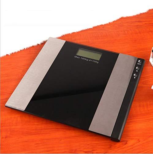 Wiegende Skala-erwachsene Körper-Gewichts-Skala-elektronische Körperfett-Skala Smart BMI Skala-Körper-Zusammensetzungs-Analysator mit dem Messen des Muskel-Fett-Knochen-Massen-Gewichts-Wassers BMI (Bmi-skala)