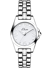 s.Oliver Damen-Armbanduhr XS Analog Quarz Alloy SO-3041-MQ