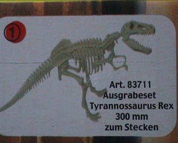 Tyrannosaurus Ausgrabungsset Riesensaurier WEICO 83711