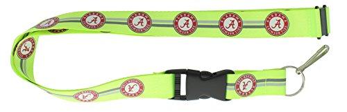 aminco NCAA Alabama Crimson Tide Lanyard, Neon Grün - Alabama Crimson Tide Lanyard
