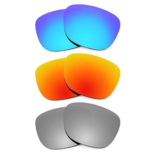 Revant Ersatzlinsen für Smith Lowdown Polarisiert 3 Paar Kombipack K014