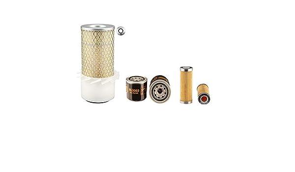 Huile Air Filtres Carburant Kubota B8200 Hst Kit Filtre