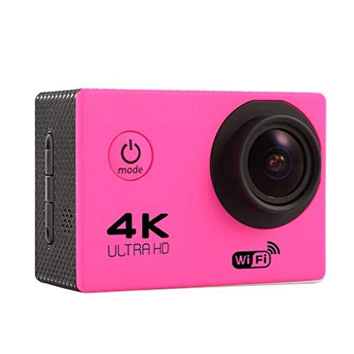traline HD 4K WiFi-Action-Kamera 170D Weitwinkel Sport DV 30M wasserdicht Sport-Video-Fahrrad-Sturzhelm-Nocken Mini-DVR