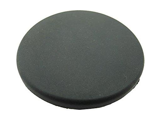 1 Gummistopfen, schwarz