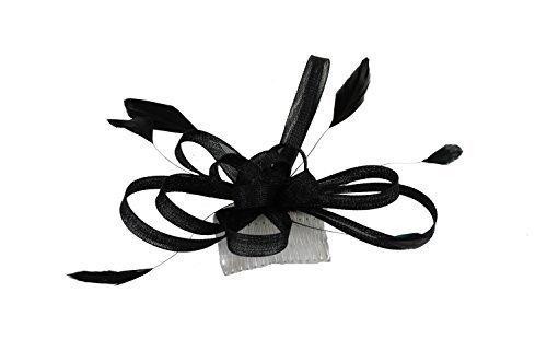 Accessoires Cheveux-Grand filet Noir Pour câble bibi sur peigne