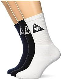 Le Coq Sportif Ess Sp Classique 3 Crew Optical Wh Socks Mixte