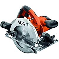 AEG Handkreissäge 1200 W, (Sägeblatt 165 mm, Schnitttiefe 41 mm (45°) / 54 mm (90°) -KS55-2