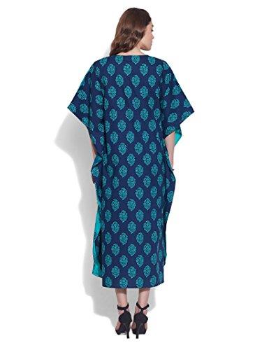 KOKOM -  Vestito  - Donna Blu oltremare