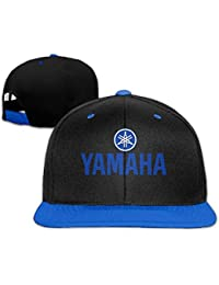 10fcb4e75c1cb Yamaha Logo Snapback Ajustable Hip Hop Gorra de béisbol Sombrero para  Unisex Royal Blue