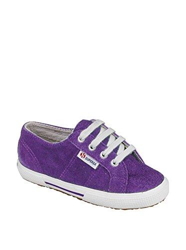 Superga 2950 Suej Lacets, Baskets mode mixte enfant Violet