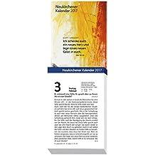 Neukirchener Kalender 2017: Abreißkalender in großer Schrift - Block mit 384 Blättern, zum Aufstellen oder Aufhängen, mit integrierter Rückwand