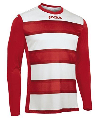 Joma Europa III T-Shirt, Herren, Herren, Europa III weiß/rot