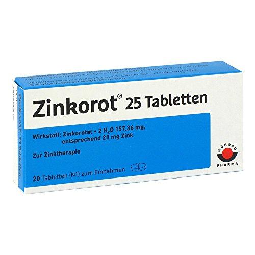 Zinkorot 25 Tabletten 20 stk