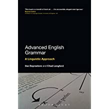 Advanced English Grammar: A Linguistic Approach