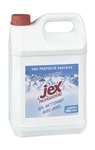 Javel gel nettoyant Jex Professionnel - Bidon de 5 litres