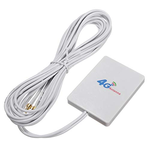 Lindahaot High Gain 28dBi 4G / 3G-LTE-Netzwerk Außenantenne Long Range Empfänger Router Signal Booster