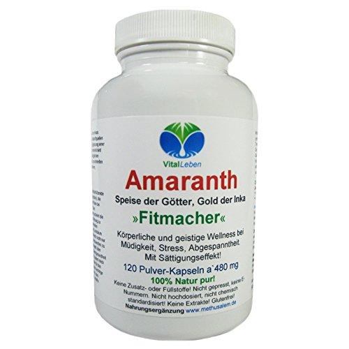 Amaranth 'Fitmacher', 120 Pulver-Kapseln a 480mg, #25517