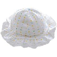 novobaby Neonata da neonati confortevole protezione solare pizzo cappello