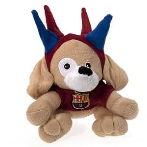 Avec idées-officiel FC Barcelone-Peluche chien Spike-A Great présents pour les Fans de Football